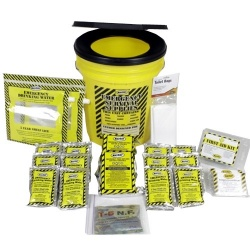 Economy Emergency Kit-2 Person - Honey Bucket