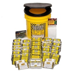 Economy Emergency Kit-3 Person - Honey Bucket