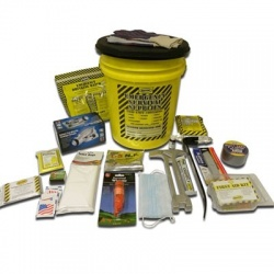 Deluxe Emergency Kit- 1 Person  - Honey Bucket Kit