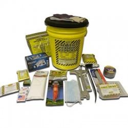 Deluxe Emergency Kit- 1 Person  - Honey Bucket Kit