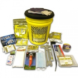 Deluxe Emergency Kit- 2 Person  - Honey Bucket Kit