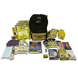 Deluxe Emergency Kit- 3 Person  - Back Pack Kit