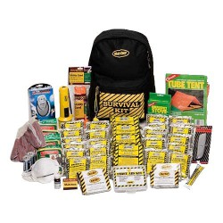 Deluxe Emergency Kit- 4 Person  - Back Pack Kit