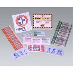 33 Piece First Aid Kit – 1 Person