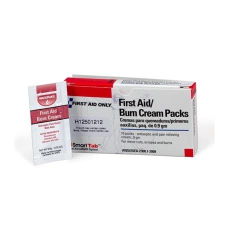 First Aid/Burn Cream - 10 per box
