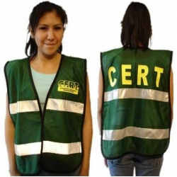 C.E.R.T. Mesh Vest with Reflective Strip