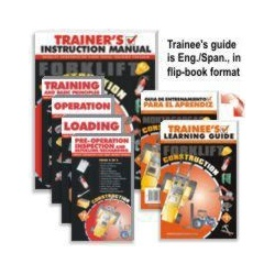 Forklift Construction Video Program - English