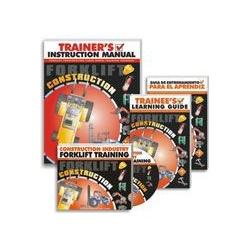 Forklift Construction DVD Program - Spanish