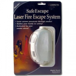 Laser Fire Escape System