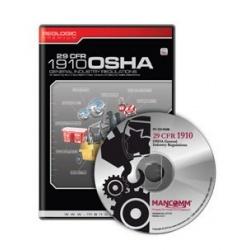 1910 OSHA General Industry Regulations CD-ROM