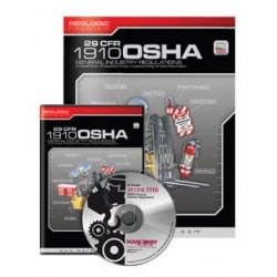 1910 OSHA General Industry Regulations Book & CD-ROM 3 Year Update