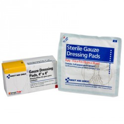 "4""x4"" Gauze dressing pad"