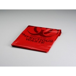 Biohazard Bag, 24 inch x 24 inch - 1 Each