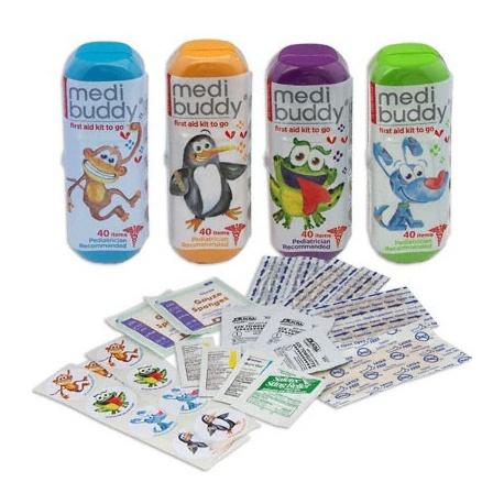 Case of 8 MediBuddy 4 Kidz-Kid Friendly first aid items