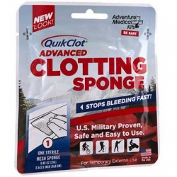 The QuikClot® Advanced Clotting Sponge 25g