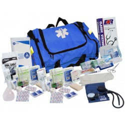 FIRST RESPONDER KIT - 151 PIECES - BLUE