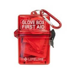 LifeLine First Aid GLOVE BOX FIRST AID KIT for Your Vehicle's Glove Box
