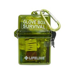 LifeLine First Aid GLOVE BOX SURVIVAL KIT for Your Vehicle's Glove Box