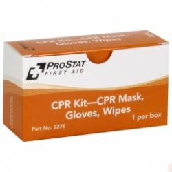 CPR KIT – CPR Mask, Gloves, Wipes, 1 Per Box