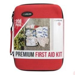 Premium Hard-Shell Foam First Aid Kit, 208 pc