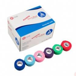 "Dynarex Sensi Wrap Self Adherent Wrap - Rainbow, 5 of Each Color, 1""x 5 yds., 30/cs"