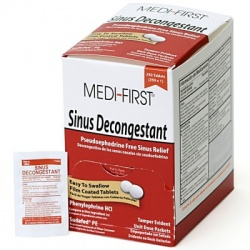 Sinus Decongestant, 250/box