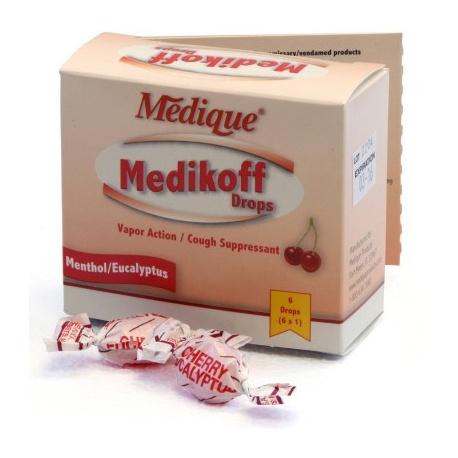 Medikoff Drops, 6/box
