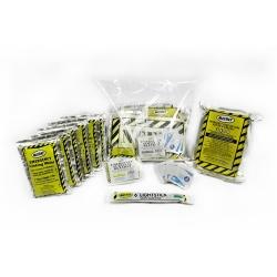 Basic 3 Day Survival Kit w/ light stick - In Bag
