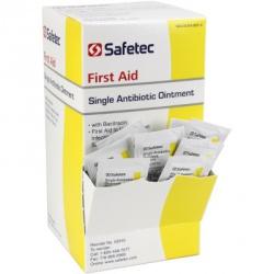 Single Antibiotic (Bacitracin) .9gm. Pouch, 144 per box