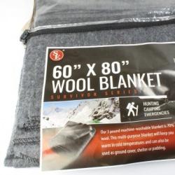 """50% Wool Blanket - 60"""" x 80"""""""