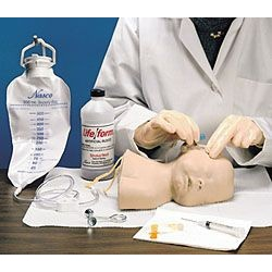 Life/form® Pediatric Head Replacement Skin and Vein Kit