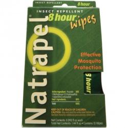 Natrapel 8-hour Wipes 12/box