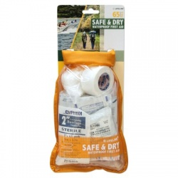 LifeLine Safe and Dry Waterproof First Aid Kit - 65 Pieces