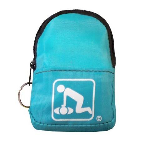 CPR BeltLoop/KeyChain BackPack: TEAL - Shield-Gloves-Wipe