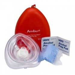 Ambu® Res-Cue CPR Mask Kit, plastic case