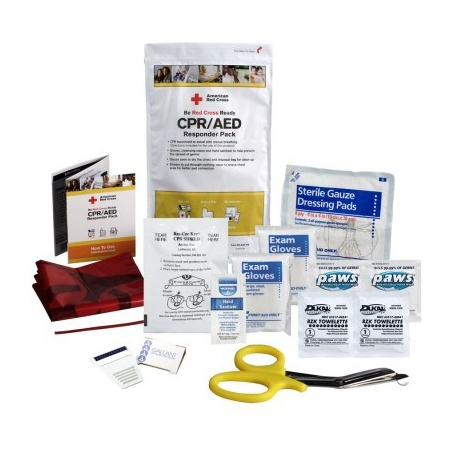 Red Cross CPR / Automated External Defibrillator Responder Pack