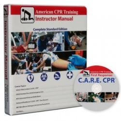 American CPR Training Instructor Manual w/ C.A.R.E DVD