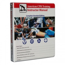 American CPR Training Instructor Manual, New Guidelines