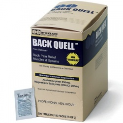 Back-Quell - Back Pain Relief, 300/box
