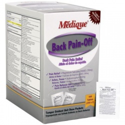 Back Pain-Off, 500/box