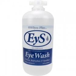 Eye wash, 32 oz. plastic bottle, screw top, $12.87 EA 12 per case