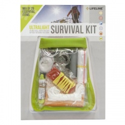 Lifeline First Aid ULTRALIGHT SURVIVAL KIT - First Aid Kit for Basic First Aid