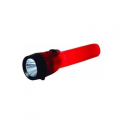 Mini Glow LED Flashlight, Red