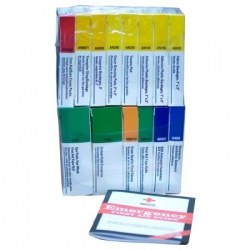 Refill brick for 16 unit unitized first aid kits: 239-AN & 241-AN