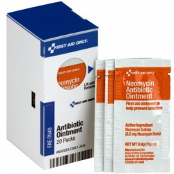 First Aid Antibiotic Ointment, (20) Packs - SmartTab™