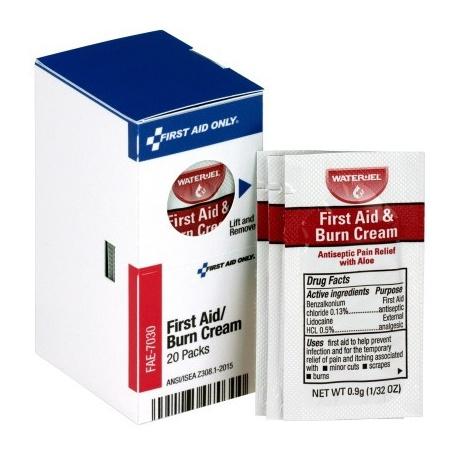 First Aid Burn Cream, 20 each - SmartTab™