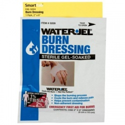 "2"" X 6"" WATER-JEL BURN DRESSING, 1 each - SmartTab™"