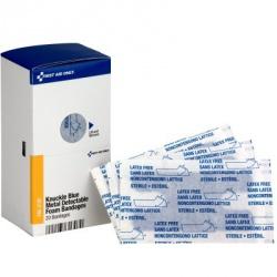 Knuckle Metal Detectable Bandage, Foam, (20) bandages