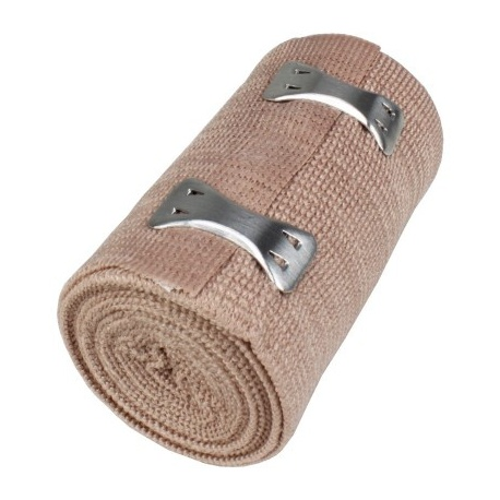 """3""""x5 yd. Latex free elastic bandage with fasteners Pack of 3 @ $.70 ea."""