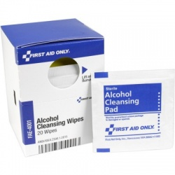 ALCOHOL CLEANSING WIPES, 20 each - SmartTab™